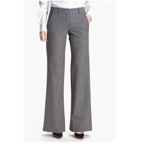 Theory Emery Wool Blend Pants Career Trouser 2101X